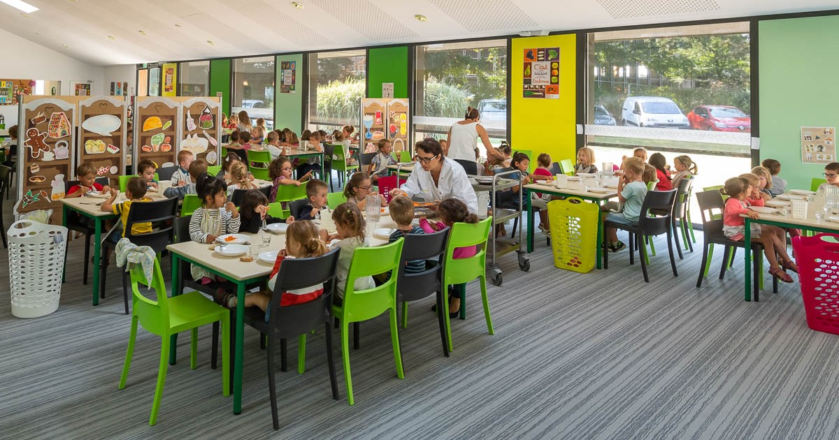 Image - Restaurant scolaire Treize-Septiers